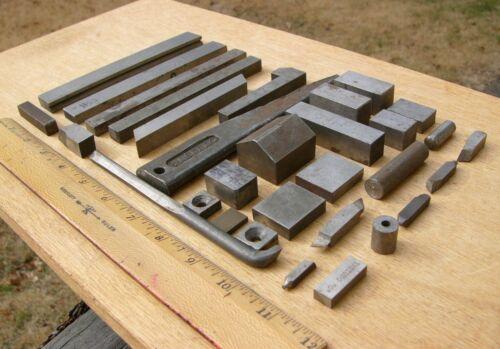 Lot of 32 pcs HSS Lathe Bits Steel Blocks Stock