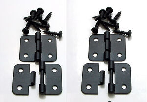 4 Pack Penn Elcom P0644K Take Apart/Lift Off Hinge Black Finish W/Mtg. Screws
