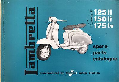 Lambretta Parts Book LI/TV 125/150/175 Series 2