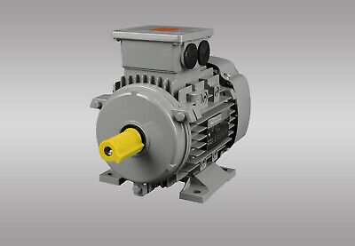 80B Elektromotor,Drehstrommotor B14K 1500 U//min Energiesparmotor IE2 0,75kW