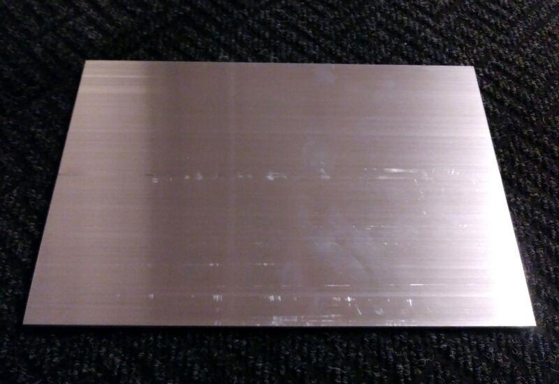 "1/8""x 8""x 12"" long new 6061 solid aluminum sheet plate flat stock .125"
