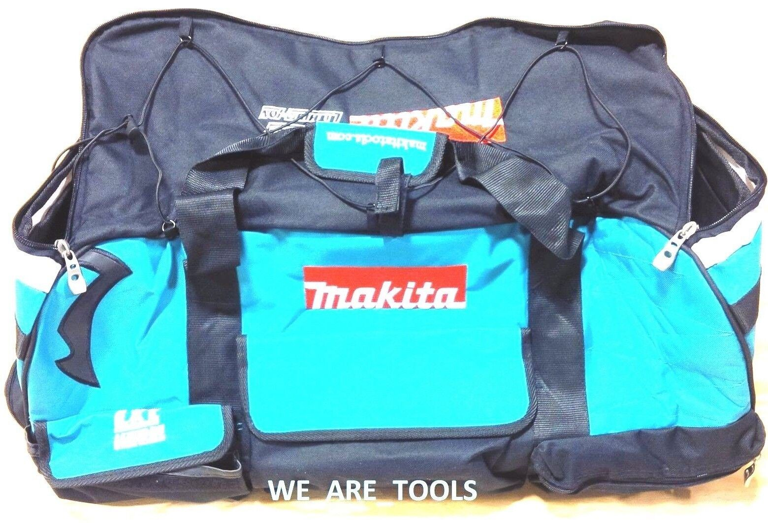Large Makita Heavy Duty Canvas Bag/Case 831269-3 With Wheels