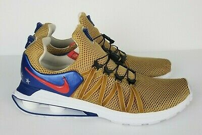 - Nike Shox Gravity Gold Red Blue USA Sneakers Running Shoes Big and Tall Men's 15