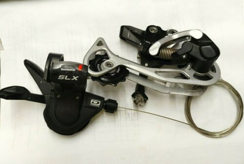 Shimano SLX SL-M660 Shifter + Deore XT RD-M773 Long Cage Rear Derailleur 10speed