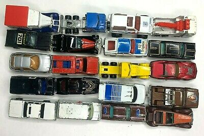 Die Cast Toy Grab Bag Assorted Lot of 20 Mixed Brands 70s/80s Hot Wheels