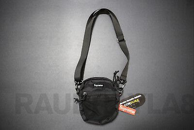 Supreme Cordura Black Small Shoulder Bag Waist Bag NYC Unisex