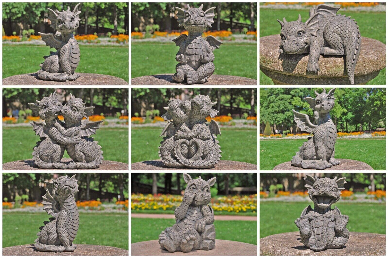 Gartendrachen - Drache Drachen Dekofigur Gartenfigur Dekofiguren Gartenfiguren 1
