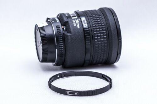 New Metal Nikon M-A M/A Ring for Nikon AF 28 f/1.4 D Lens