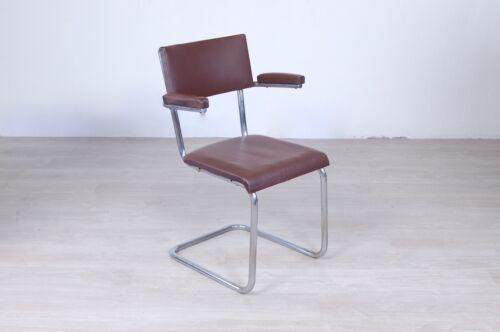 Sedia Da Ufficio Vintage.Sedia Poltroncina Ufficio Anni 40 50 Stile Bauhaus Marchio Xxx
