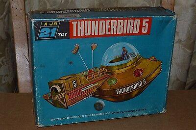 Vintage Thunderbirds JR21 THUNDERBIRD 5 Toy Boxed 1960's Gerry Anderson