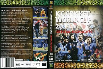 ICC CRICKET WORLD CUP DVD MATCHES 2011 150MINS COLOR - Icc Cricket