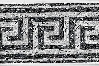Black And White Borders (GREY, BLACK AND WHITE GREEK KEY WALLPAPER)