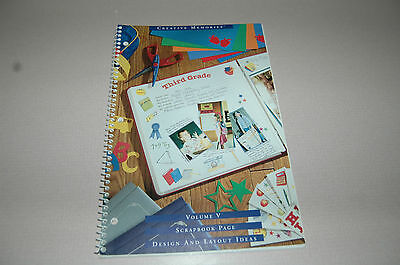 Creative Memories Volume V Design And Layout Ideas Book