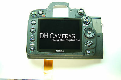 Nikon D7000 Rear Cover Assembly Authentic Part + Lcd And Key Button A0611