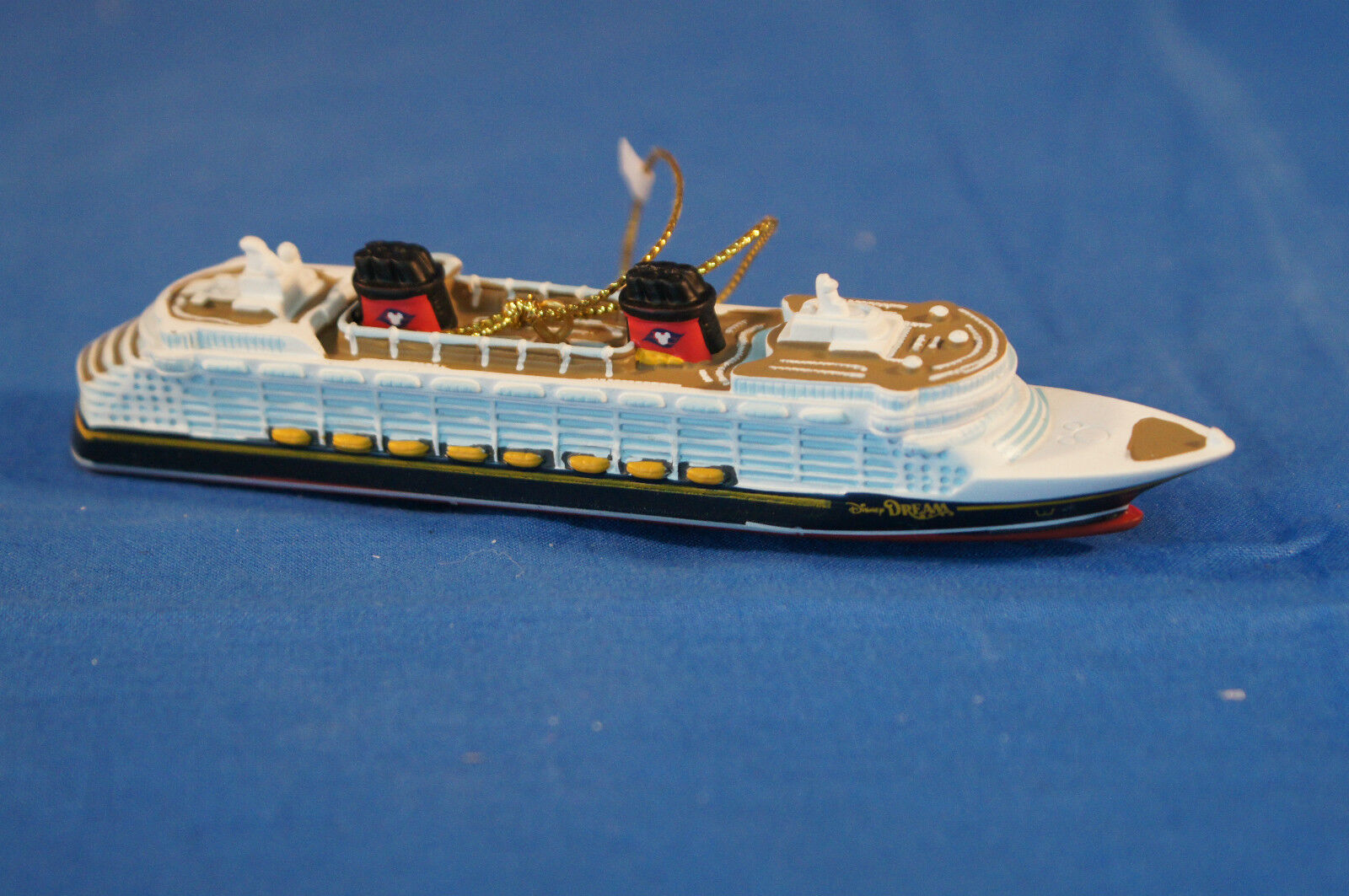 Disney Cruise Line Dream Resin Christmas Ornament Ship
