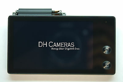 Samsung Digimax Mv800 Camera Lcd Part With Rear Cover And Touch Digitizer Black