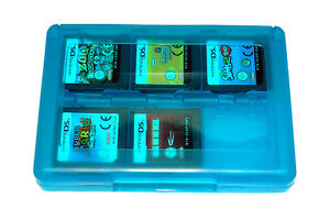 24 DS Game Case Holder for Nintendo 3DS DSi XL Lite DS BLUE