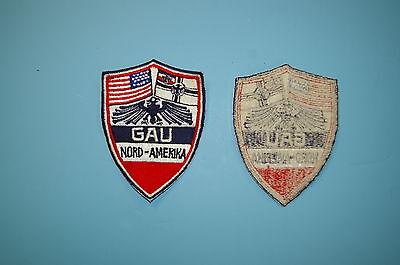 b1192 1930's German / American Bund GAU Nord-Amerika patch
