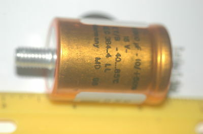 Roederstein Ley02bb510d0 10000uf 16v -9.5 85 Deg Computer Grade Capacitor Qty-3