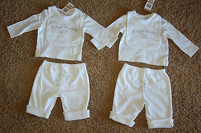 First Impressions I Love Mommy/daddy 3 Piece Long Sleeve Set 0-3m 3-6m 6-9m