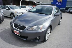 2012 Lexus IS 250 AWD | PREMIUM PKG | LEATHER | SUNROOF | CLEAN