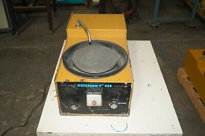 Buehler Ecomet 3 Iii Variable Speed Polisher Grinder 49-1650-160 115v Ph1 5amps