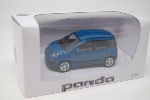 MONDO MOTORS 1:43 FIAT PANDA DEALER EDITION...BLUE...BOXED