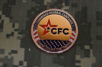 Challenge Coin Combined Federal Campaign Central Ohio And West Virginia Cfc