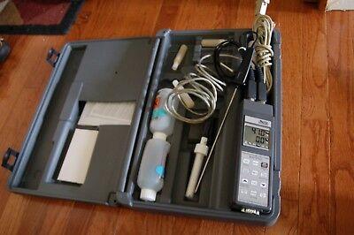 Dissolved Oxygen Meter Data Logger Handheld Analyzer Do 9709 Delta Ohm Software