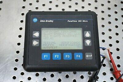 Allen Bradley 2711-m3a19l1 A Panelview 300 Micro Good Condition