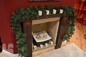 2.7m (9ft) Imperial Pine Christmas Garland Fireplace Wreath XMAS Decoration