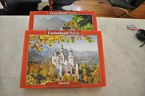 2 Castorland jigsaw puzzles Peppermint Grove Cottesloe Area Preview
