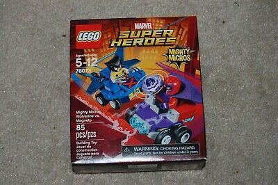 LEGO Marvel Super Heroes Mighty Micros: Wolverine vs Magneto 76073 NEW & SEALED