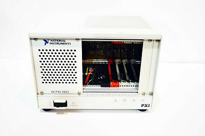 National Instruments Ni Pxi-1031 4-slot 3u Pxi Chassis Pn 190871d-01