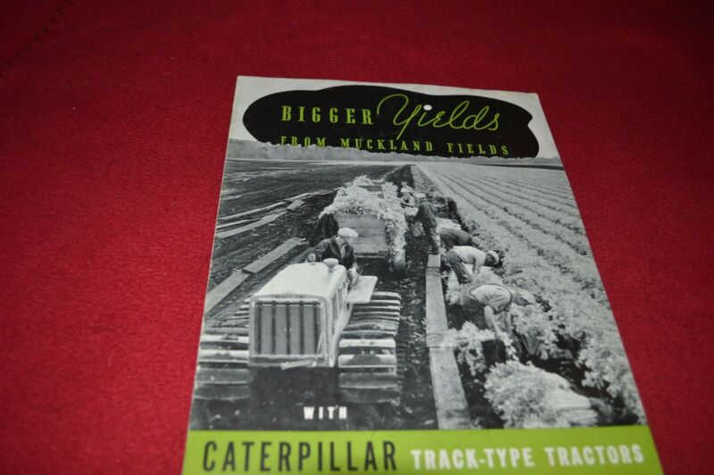 Caterpillar Muckland Fields Crawler Tractor Dealer