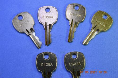 National Cabinet Lock Comp-X Stock Keys C346A/C390A/C413A/C415A/C420A/C642A