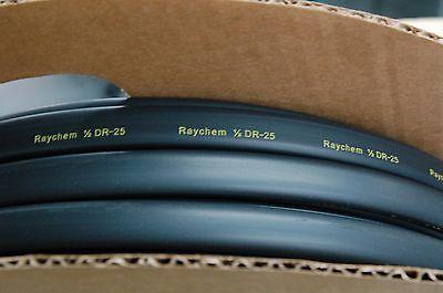 Dr-25 Shrinkable 12 Black Heatshrin Raychem For 5 Metres-free Shipping