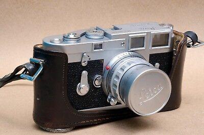 Used, Leica M3 SS Rangefinder camera w/ Leica Summicron 50mm f/2 Rigid Lens for sale  Mexico