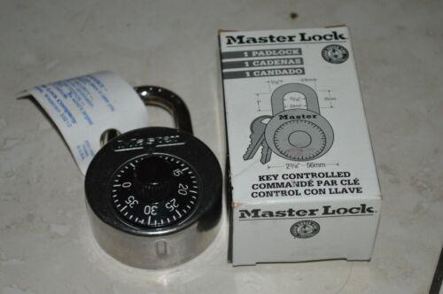 MASTER LOCK 2010 Combination Padlock,Center,Black/Silver
