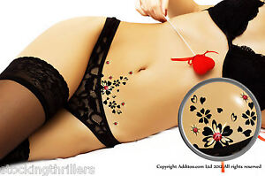 Addttoo Fun Novelty Adult Crystal Body Art Tattoo Sexy Swarovski Vajazzle Kit