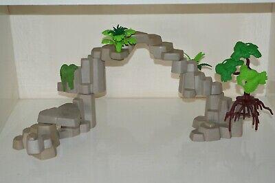 Playmobil Wildlife Western Safari Jungle Rock Formation Scenery Tree Spares Etc