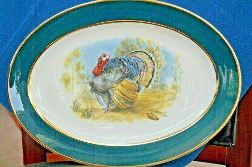 MCM Embassy USA  Large Oval Turkey Platter