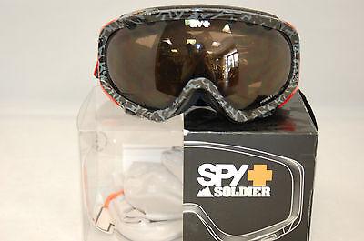 39850edbcb SPY Optic VANULAR SNOW GOGGLE BRONZE LENS NEW!