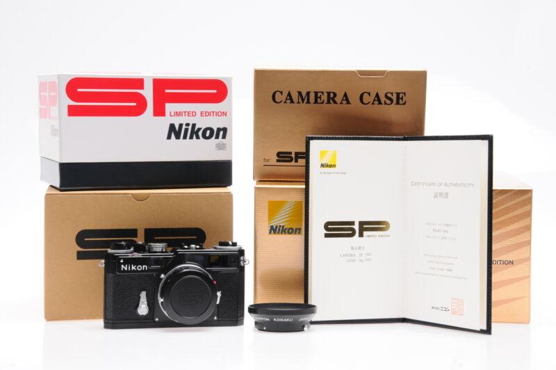 Nikon SP Limited Edition Kit w/Nikkor 3.5cm f1.8 Lens (c.2005) #902