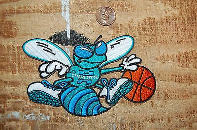 Charlotte Hornets Defunct 4 1 2  Patch 1988 2002 Alternate Logo Basketball