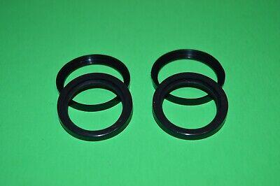 Two Ez Pour Rubber Gaskets Fuel Nozzle Gas Cans Replacement Fits Most Plastic