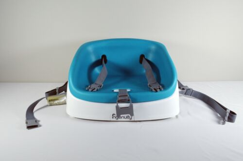 Ingenuity SmartClean Toddler Booster Seat 60685 AQUA Manual USED GOOD CONDITION