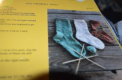 Easy Sock Knitting Patterns - Knitting Pure & Simple Knitting Pattern 203 Easy Children's Socks