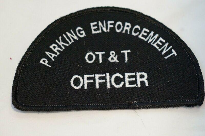 Canadian Parking Enforcement OT & T Officer Patch