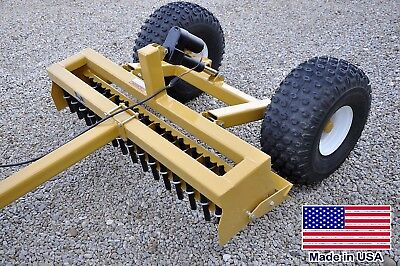 4ft Driveway Grader - Clevis Hitch Pull Behind - Atv Utv Rov Mower Compatible